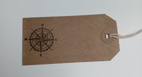 Compass Tags 10pk