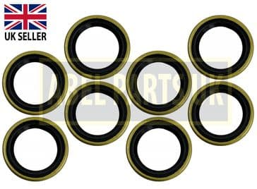 3CX - WIPER SEAL FOR STEERING ASSEMBLY PACK OF 8 (PART NO. 904/09300)