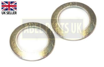 3MM SPACER SET OF 2PC'S FOR JCB 3CX 2CX 3230-80 3200-80 3230-65 (819/00148)