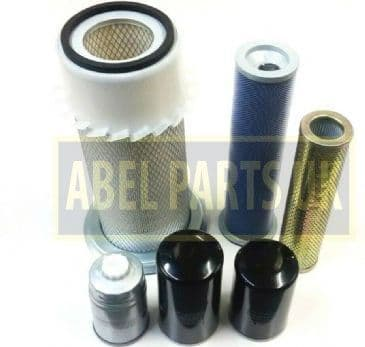 AIR FILTER KIT P8 TURBO AB SN 400000-430000 FOR SNYCRO AND P/S TRANS (32/903601,32/202601,02/100284)