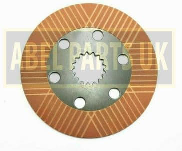 BRAKE FRICTION PLATE FOR JCB SD40 520 2CX 520-50 (PART NO.458/20281)