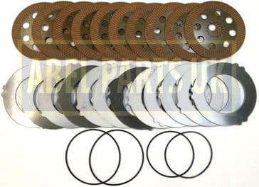 BRAKE PLATES AND SEALS SET FOR PROJECT 9 & 12(458/20285, 458/20353, 813/50026, 813/50012)