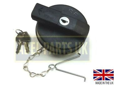 DIESEL TANK CAP WITH 2 KEYS LOCKABLE (PART NO. 332/F8215) WITH CHAIN