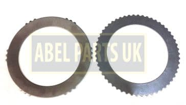 DISC SPRING & TOOTHED SHIM PLATE FOR JCB SS660,SS640,SS620,SS400 (449/10501, 445/12314)