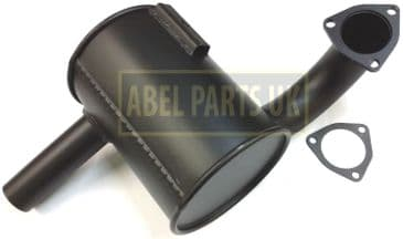 EXHAUST BOX SILENCER NON TURBO WITH GASKET (PART NO. 123/00307)