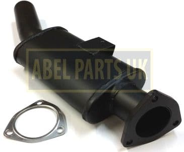 EXHAUST BOX SILENCER TURBO WITH GASKET (PART NO. 123/03963)