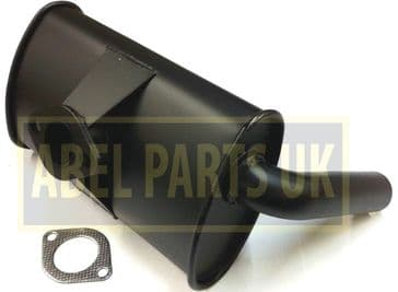 EXHAUST BOX SILENCER WITH GASKET (PART NO. 106/65307)