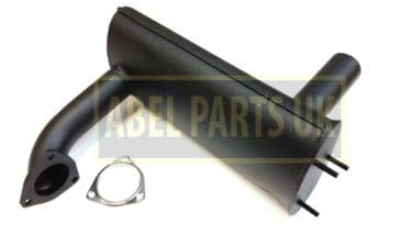 EXHAUST & GASKET FOR JCB LOADALL 520,526,528,530 (PART NO.331/16016)