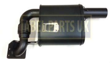EXHAUST SILENCER FOR JCB 3CX (PART NO. 128/H7629 , 320/06006)
