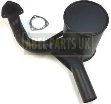 EXHAUST SILENCER NON TURBO WITH GASKET(PART NO. 123/03964)