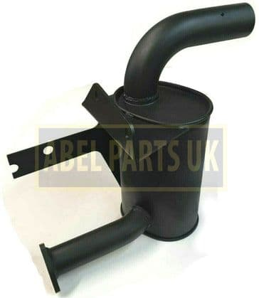 EXHAUST SILENCER TURBO (PART NO. 123/07867) INCLUDES GASKET