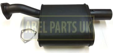 EXHAUST SILENCER TURBO WITH GASKET (PART NO. 331/35702)