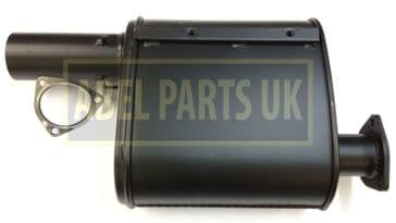 EXHAUST SILENCER WITH GASKET (PART NO. 331/35697)