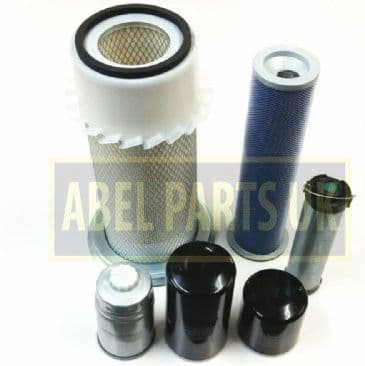 FILTER KIT P8 TURBO AB SN 430001 -459999 FOR SNYCRO AND P/S TRANS