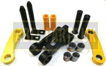 MINI DIGGER DIPPER ARM TIPPING LINK REPAIR KIT (232/03901, 232/01100, 232/03907, 232/32001)