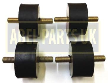 RUBBER MOUNTING SET FOR LOADALL, 812, 814, LOADING SHOVEL (PART NO. 200/77101)