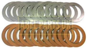 TRANSMISSION FRICTION & COUNTER PLATE SET (331/16516 X 12, 331/16520 X 12)