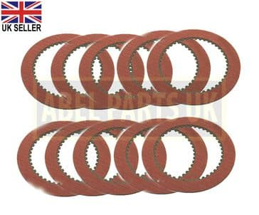TRANSMISSION FRICTION PLATE SET OF 10PC (PART NO. 445/30011)