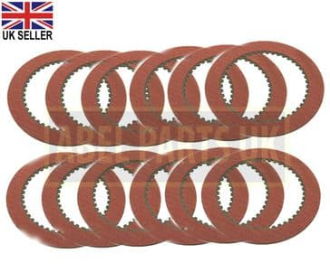 TRANSMISSION FRICTION PLATE SET OF 12PC (PART NO. 445/30011)