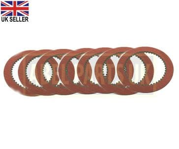 TRANSMISSION FRICTION PLATE SET OF 7PC (PART NO. 445/30011)
