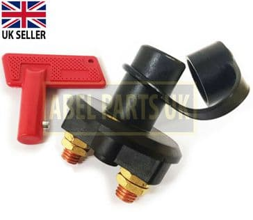 Universal 12V Battery Isolator Switch Cut Off Switch for Car Boat Van Truck etc.