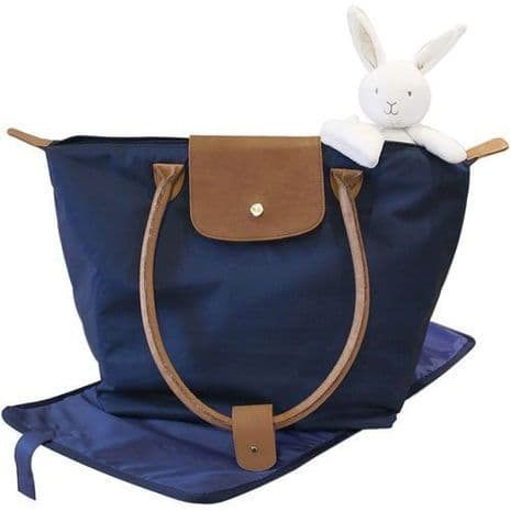 New Suncrest Shopper Tote Change Bag Navy Baby Changing Bag