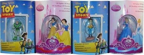 Official Disney 3D Keyring Cars . Woody .Snow White , Cinderella . Key Ring Gift