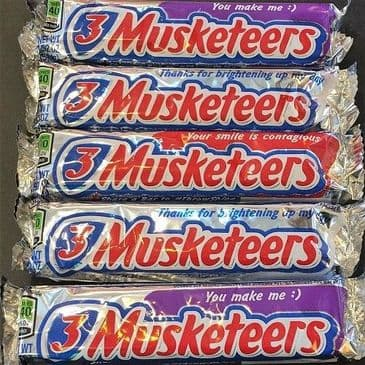 3 Musketeers Chocolate Bar 54.4g