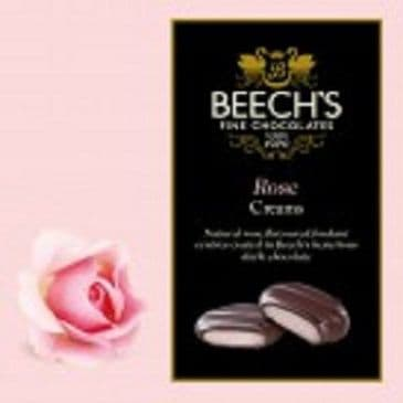 Beech's Dark Chocolate Rose Creams VEGAN
