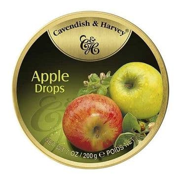 Cavendish & Harvey Apple Drops (Travel Tin)