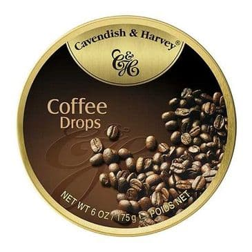 Cavendish & Harvey Coffee Drops (Travel Tin)