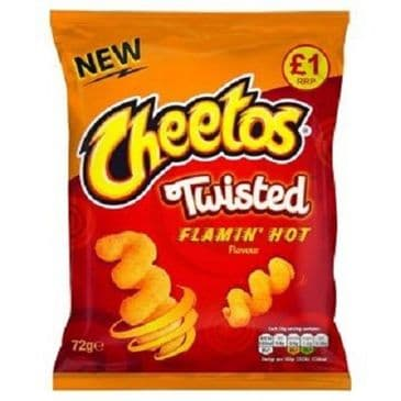 Cheetos Twisted Flaming Hot