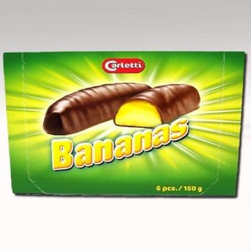 Chocolate Bananas (Carletti) 150g