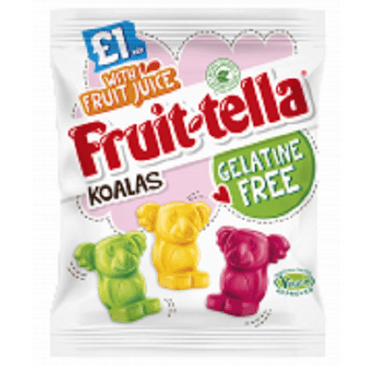 Fruit-tella Koalas 100g VEGAN