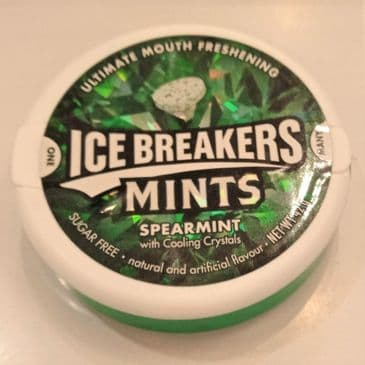 Ice Breaker Mints - Spearmint (Sugar Free)