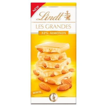 Lindt Les Grandes White Almonds 150g