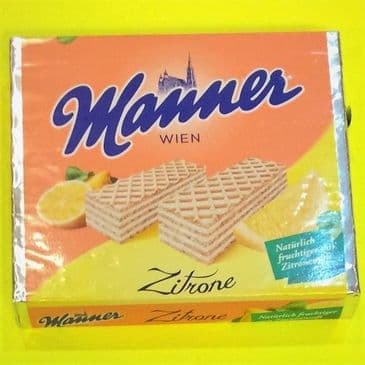 Manner Wafer Lemon VEGAN