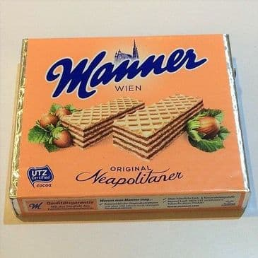 Manner Wafer Neopolitan VEGAN
