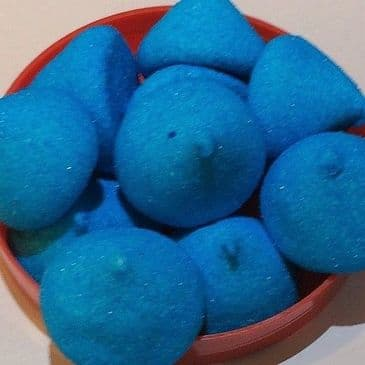 Marshmallow Paintballs Blue