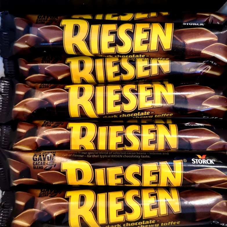 Riesen Choc Toffee Bars