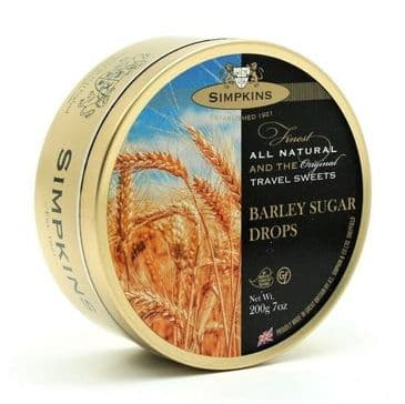Simpkins Barley Sugar Drops (Travel Tin)