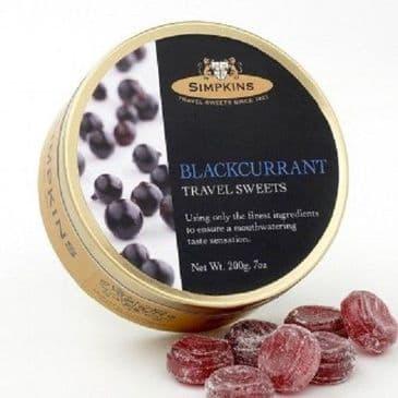 Simpkins Blackcurrant Drops (Travel Tin)