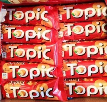 Topic Choc Bar 47g