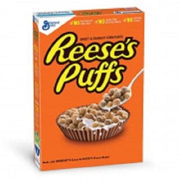 USA Cereal Box - Reeses Puffs