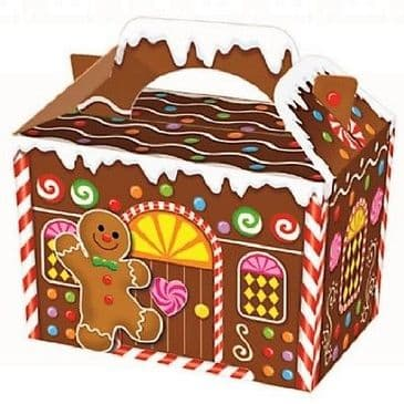Xmas Gingerbread House Treats Box