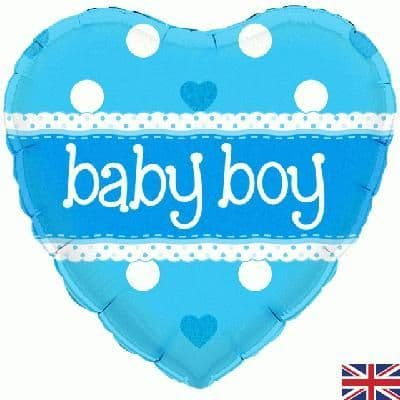 228199: - :Baby Boy - Heart Holographic