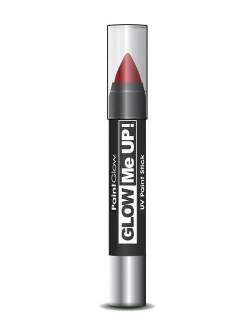 Glow Me Up - UV Paint Stick - Red