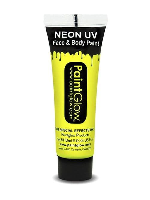Neon UV - Face and Body Paint - Yellow