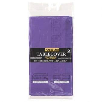 Purple Paper Tablecover
