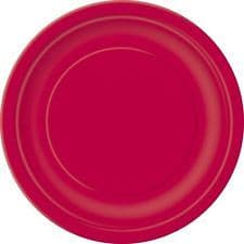 Ruby Red 22cm Plates